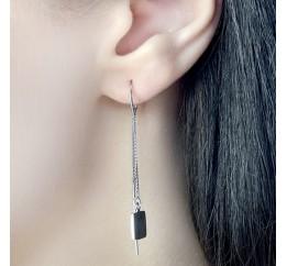 Серебряные серьги SilverBreeze без камней (1584002)