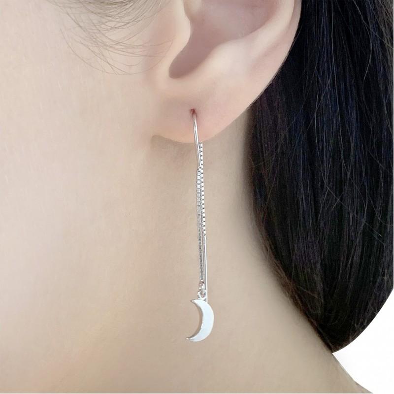 Серебряные серьги SilverBreeze без камней (1584019)