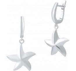 Серебряные серьги SilverBreeze без камней (1947050)