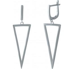 Серебряные серьги SilverBreeze без камней (1973288)