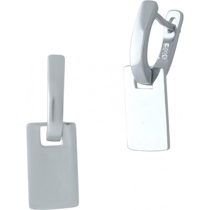 Серебряные серьги SilverBreeze без камней (2000235)