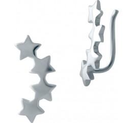 Серебряные серьги SilverBreeze без камней (2001843)