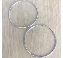 Серебряные серьги SilverBreeze без камней (1993903)