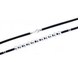 Серебряный шнурок SilverBreeze без камней (1893128) 500 размер