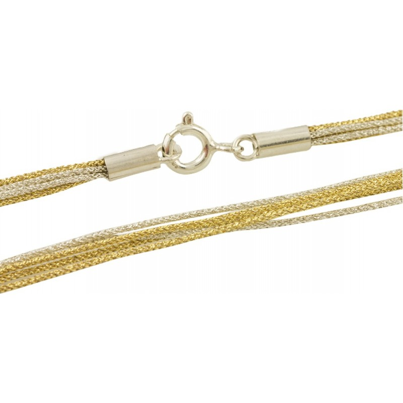 Серебряный шнурок SilverBreeze без камней (1655238) 450 размер
