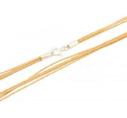 Серебряный шнурок SilverBreeze без камней (1655221) 400 размер