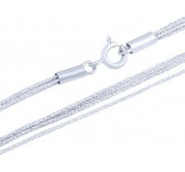 Серебряный шнурок SilverBreeze без камней (1655214) 400 размер