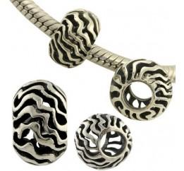 Серебряный шарм SilverBreeze без камней (1431368)