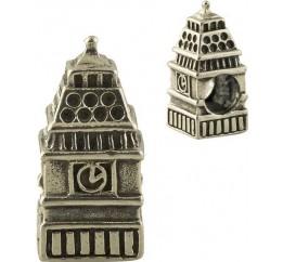 Серебряный шарм SilverBreeze без камней (1347492)