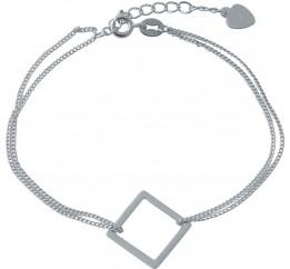Серебряный браслет SilverBreeze без камней (1994061) 1720 размер