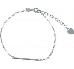 Серебряный браслет SilverBreeze без камней (1981672) 1720 размер