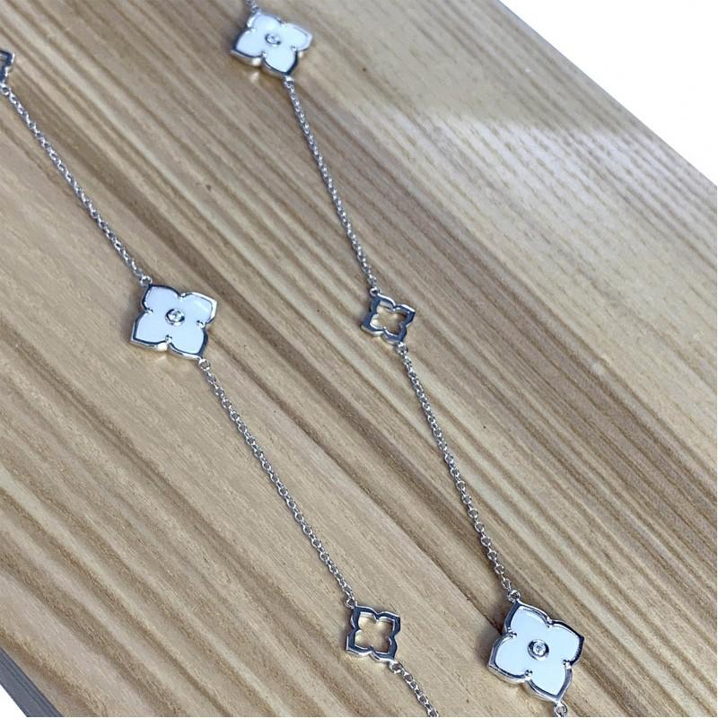 Серебряное колье SilverBreeze с керамикой (1982556) 800 размер
