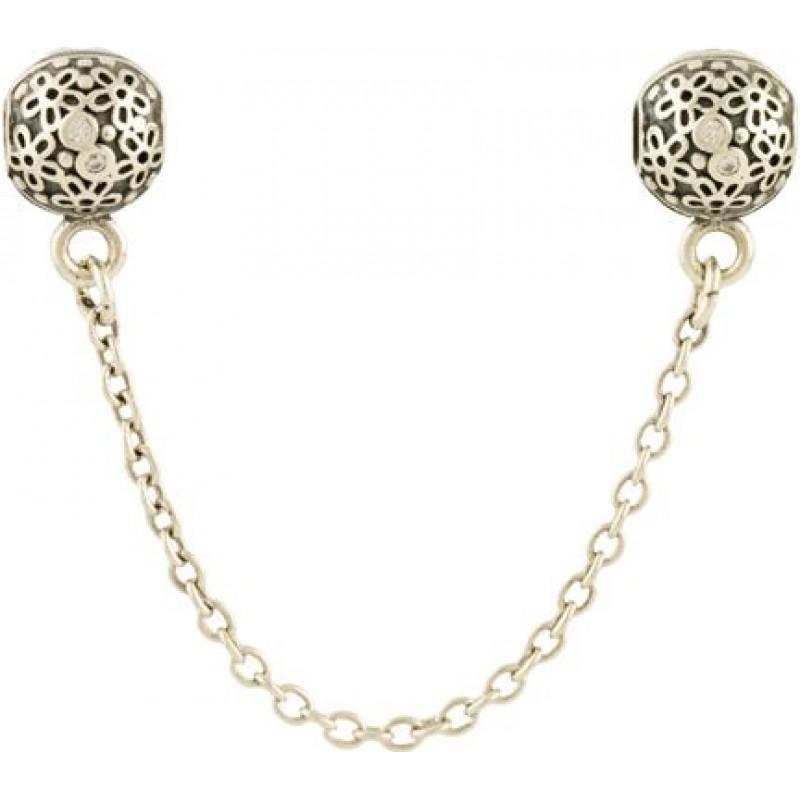 Серебряный шарм-клипса SilverBreeze без камней (1468104)