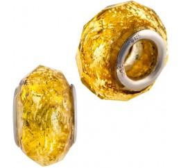 Серебряный шарм SilverBreeze с стеклом Мурано (1740323)