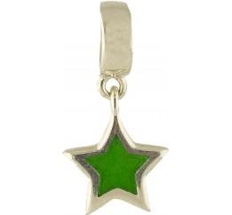 Серебряный шарм SilverBreeze с емаллю (1344347)