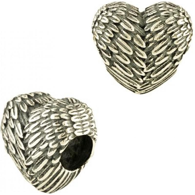 Серебряный шарм SilverBreeze без камней (1475287)