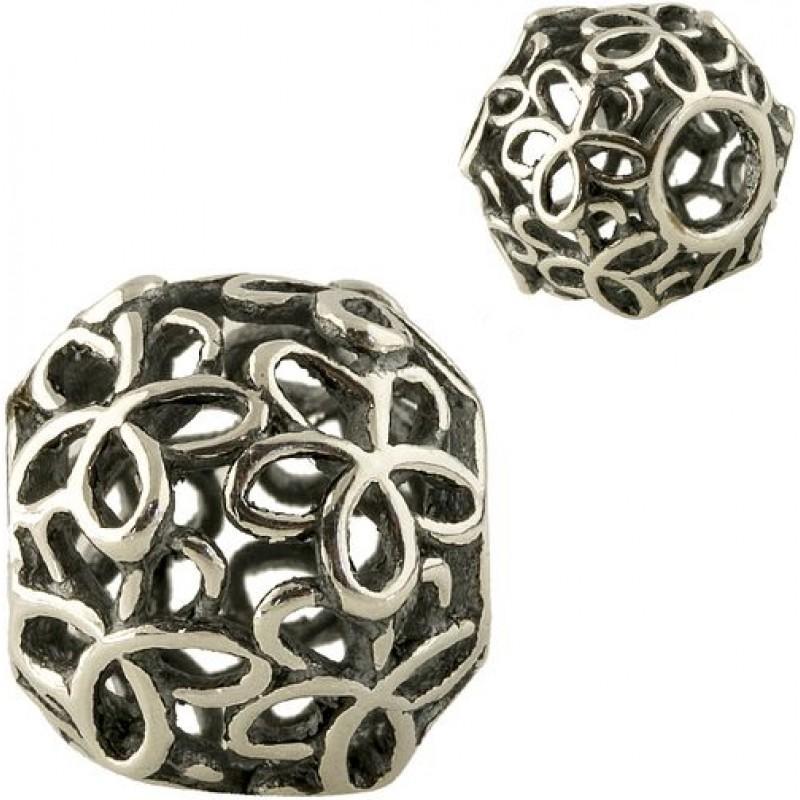 Серебряный шарм SilverBreeze без камней (1345788)