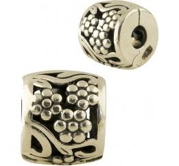 Серебряный шарм SilverBreeze без камней (1344019)