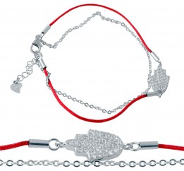 Серебряный браслет SilverBreeze с фианитами (2027294) 1720 размер