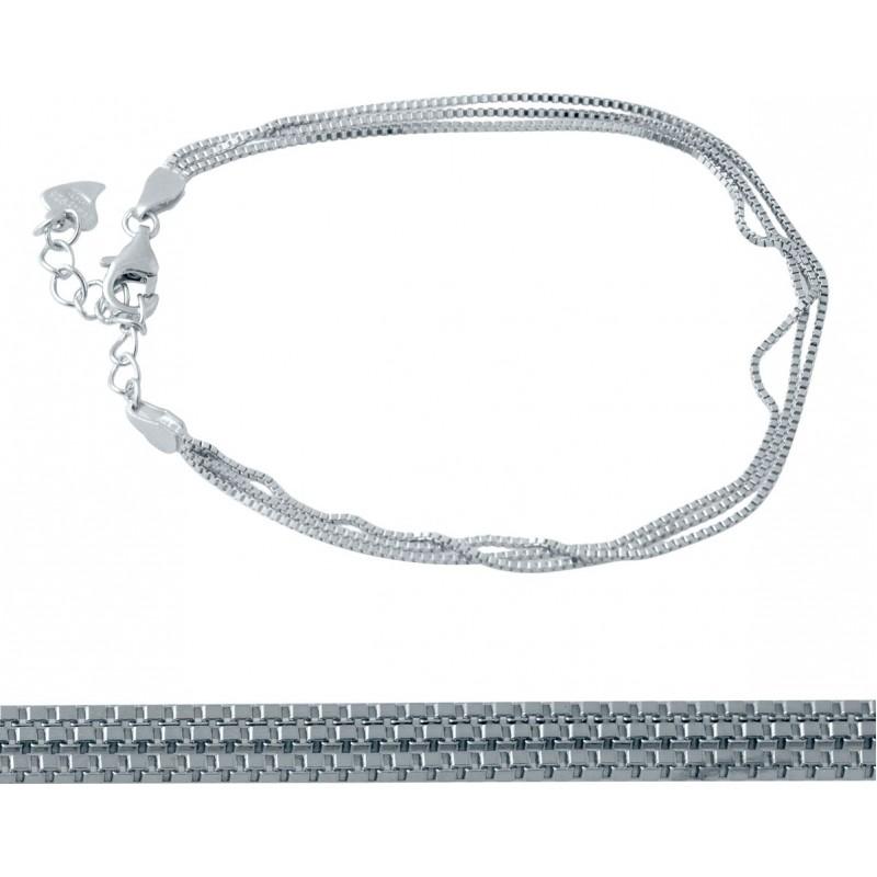 Серебряный браслет SilverBreeze без камней (2032830) 1720 размер