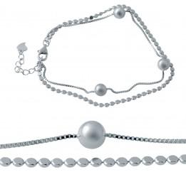 Серебряный браслет SilverBreeze без камней (2032502) 1720 размер