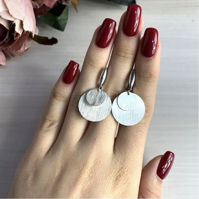 Серебряные серьги SilverBreeze без камней (2032922)