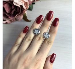Серебряные серьги SilverBreeze без камней (2031246)