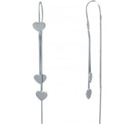 Серебряные серьги SilverBreeze без камней (2029946)