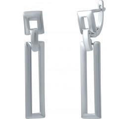 Серебряные серьги SilverBreeze без камней (2029854)