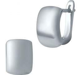 Серебряные серьги SilverBreeze без камней (2029847)