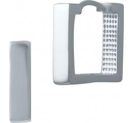 Серебряные серьги SilverBreeze без камней (2029823)