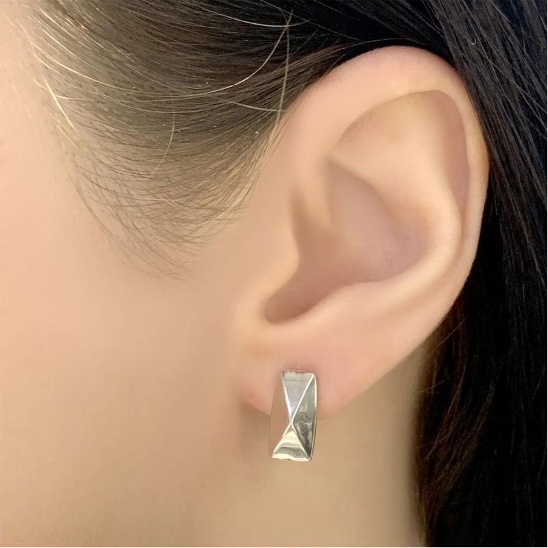 Серебряные серьги SilverBreeze без камней (2029809)