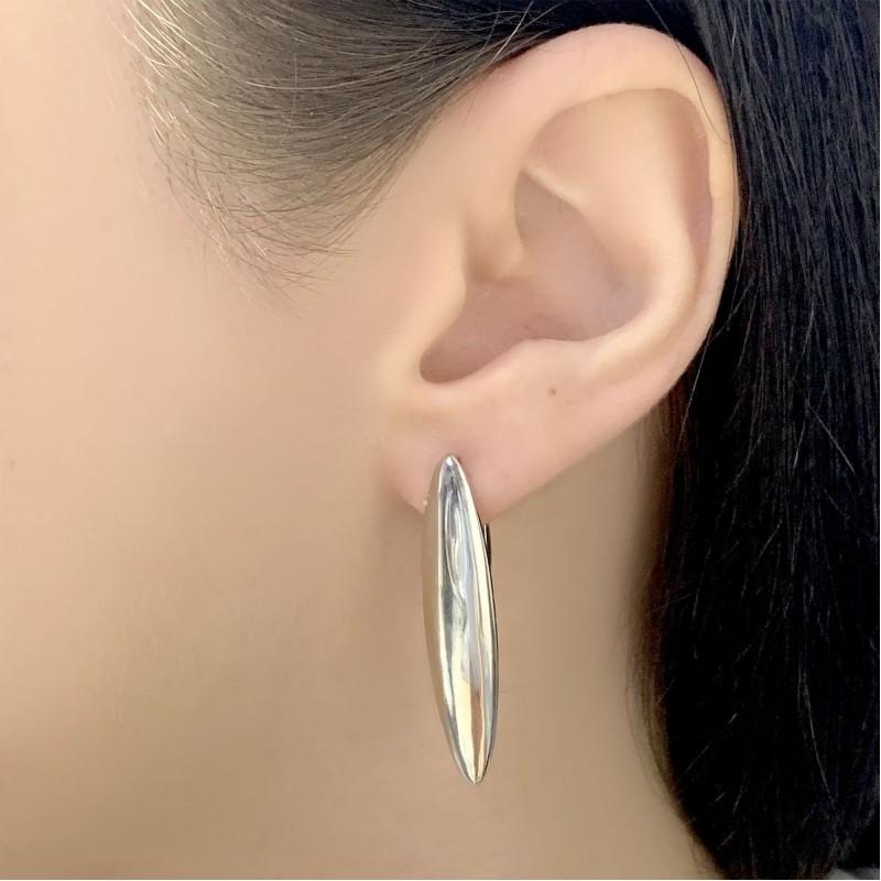 Серебряные серьги SilverBreeze без камней (2029755)