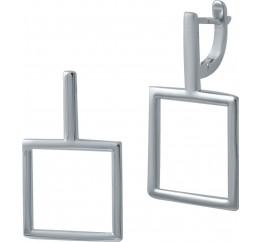 Серебряные серьги SilverBreeze без камней (2029731)