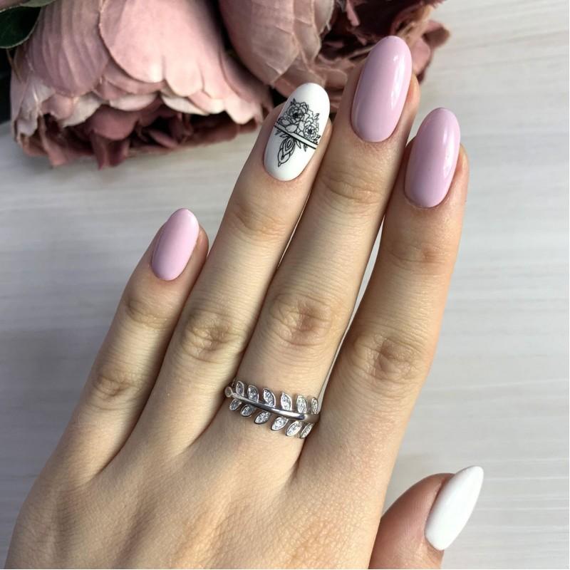 Серебряное кольцо SilverBreeze с фианитами (2036609) 16.5 размер
