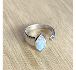 Серебряное кольцо SilverBreeze с опалом (1960622) 17.5 размер