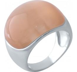 Серебряное кольцо SilverBreeze с кошачим глазом (2026143) 17.5 размер