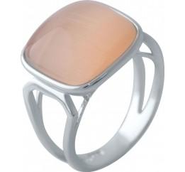 Серебряное кольцо SilverBreeze с кошачим глазом (2022640) 18 размер