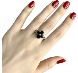 Серебряное кольцо SilverBreeze с керамикой (1982341) 18.5 размер