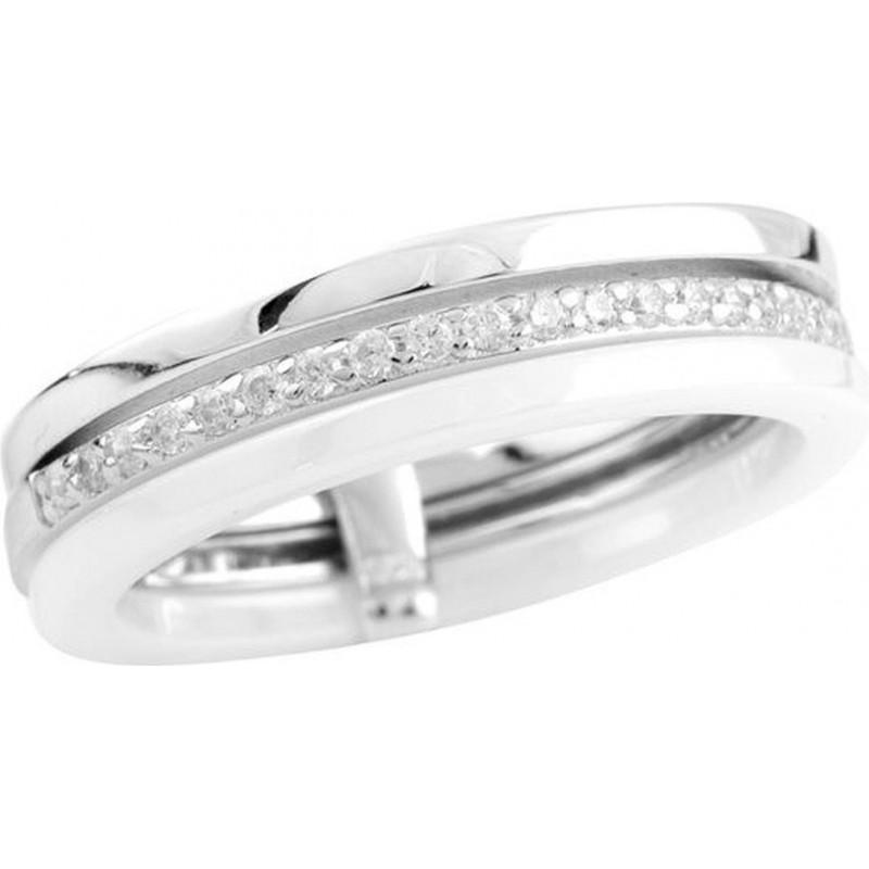 Серебряное кольцо SilverBreeze с керамикой (1577196) 18.5 размер