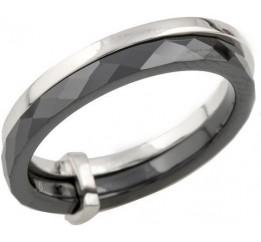 Серебряное кольцо SilverBreeze с керамикой (1093207) 16.5 размер