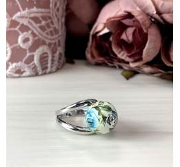 Серебряное кольцо SilverBreeze с емаллю (2003892) 18.5 размер