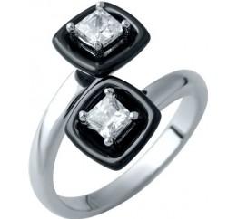 Серебряное кольцо SilverBreeze с , керамикой (1908211) 16.5 размер