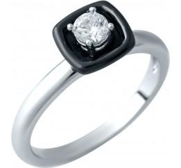 Серебряное кольцо SilverBreeze с , керамикой (1908198) 16.5 размер