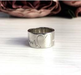 Серебряное кольцо SilverBreeze без камней (2036630) 16 размер