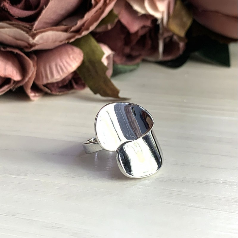 Серебряное кольцо SilverBreeze без камней (2031680) 19 размер