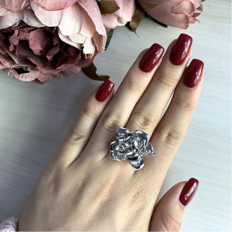 Серебряное кольцо SilverBreeze без камней (2031635) 17 размер