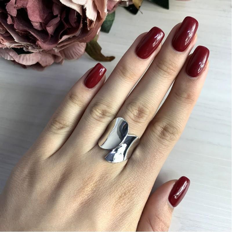 Серебряное кольцо SilverBreeze без камней (2031628) 18 размер