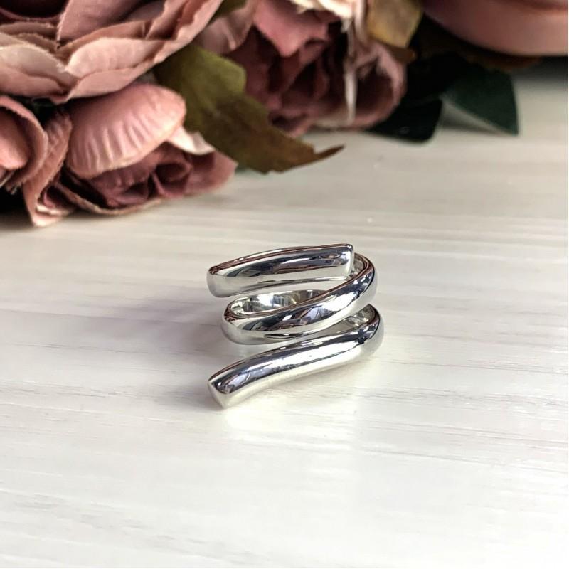 Серебряное кольцо SilverBreeze без камней (2031604) 17.5 размер
