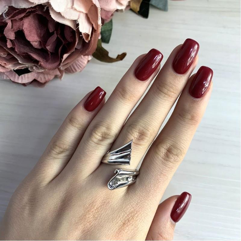 Серебряное кольцо SilverBreeze без камней (2031567) 18.5 размер